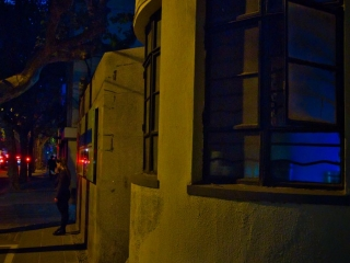 French concession by night